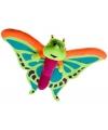 Pluche knuffel vlinder 58 cm