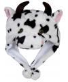 Pluche koeien muts voor kinderen
