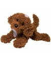 Pluche labradoodle hond knuffel 41 cm