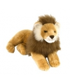 Pluche liggende leeuw 40 cm