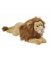 Pluche liggende leeuw knuffel 70cm