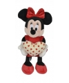 Pluche minnie mouse knuffel met hart