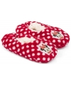 Pluche minnie mouse pantoffels rood