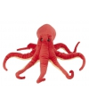 Pluche octopus knuffel rood 32 cm