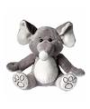 Pluche olifant knuffel 21 cm