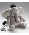 Pluche olifant spaarpot kluis 17 cm