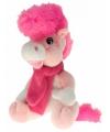 Pluche paard elvis roze 40 cm