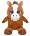 Pluche paard knuffel 16 cm