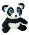 Pluche panda knuffel 18 cm