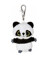 Pluche panda sleutelhanger 7 5 cm