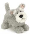 Pluche schnauzer knuffel hond 23 cm