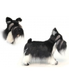 Pluche schnauzer knuffel hond 45 cm