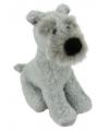 Pluche terrier knuffel hond 17 cm