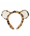 Pluche tijger hoofdband met oortjes15 cm