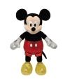 Pluche ty beanie mickey mouse met geluid 20 cm