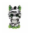 Pluche ty beanie zebra zig zag 24 cm