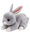 Pluche ty boo konijn nibbler 15 cm