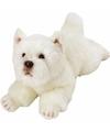 Pluche west highland terrier knuffel hond 33 cm