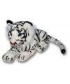 Pluche witte tijger 36 cm