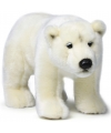 Pluche wnf ijsbeer knuffel 31 cm
