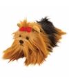 Pluche yorkshire terrier knuffel hond 33 cm