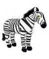 Pluche zebra knuffel 30 cm