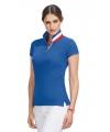 Poloshirt frankrijk voor dames