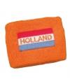 Polsbandje vlag en holland geborduurd