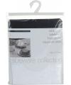 Polyester tafelkleed zilver