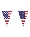 Polyester vlaggenlijn amerika 5 meter