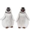 Polyestone beeldje pinguin 27 cm