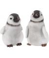 Polystone beeldje pinguin 12 cm