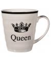 Porseleinen mok queen