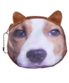 Portemonnee beagle hond 10 x 11 cm
