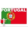 Portugal supporter cape