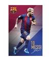 Poster lionel messi fc barcelona 16 17 61 x 91 cm