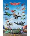 Poster planes 61 x 91 cm