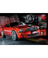 Poster rode ford mustang 61 x 91 5 cm