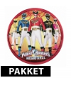 Power rangers kinderfeest pakket
