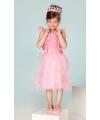 Prinses jurkje fuchsia roze