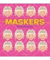 Prinses maskers 10 stuks