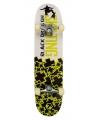 Professioneel skateboard groen wit