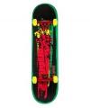 Professioneel skateboard oranje groen aqua