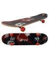 Professioneel skateboard rood zwart 78 x 20 cm