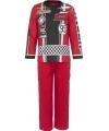 Pyjama cars rood
