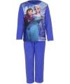 Pyjama frozen blauw roze