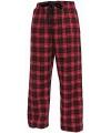 Pyjamabroek rood zwart
