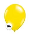 Qualatex ballonnen citroen geel 10 stuks