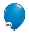Qualatex ballonnen donkerblauw 25 stuks