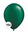 Qualatex ballonnen donkergroen 10 stuks